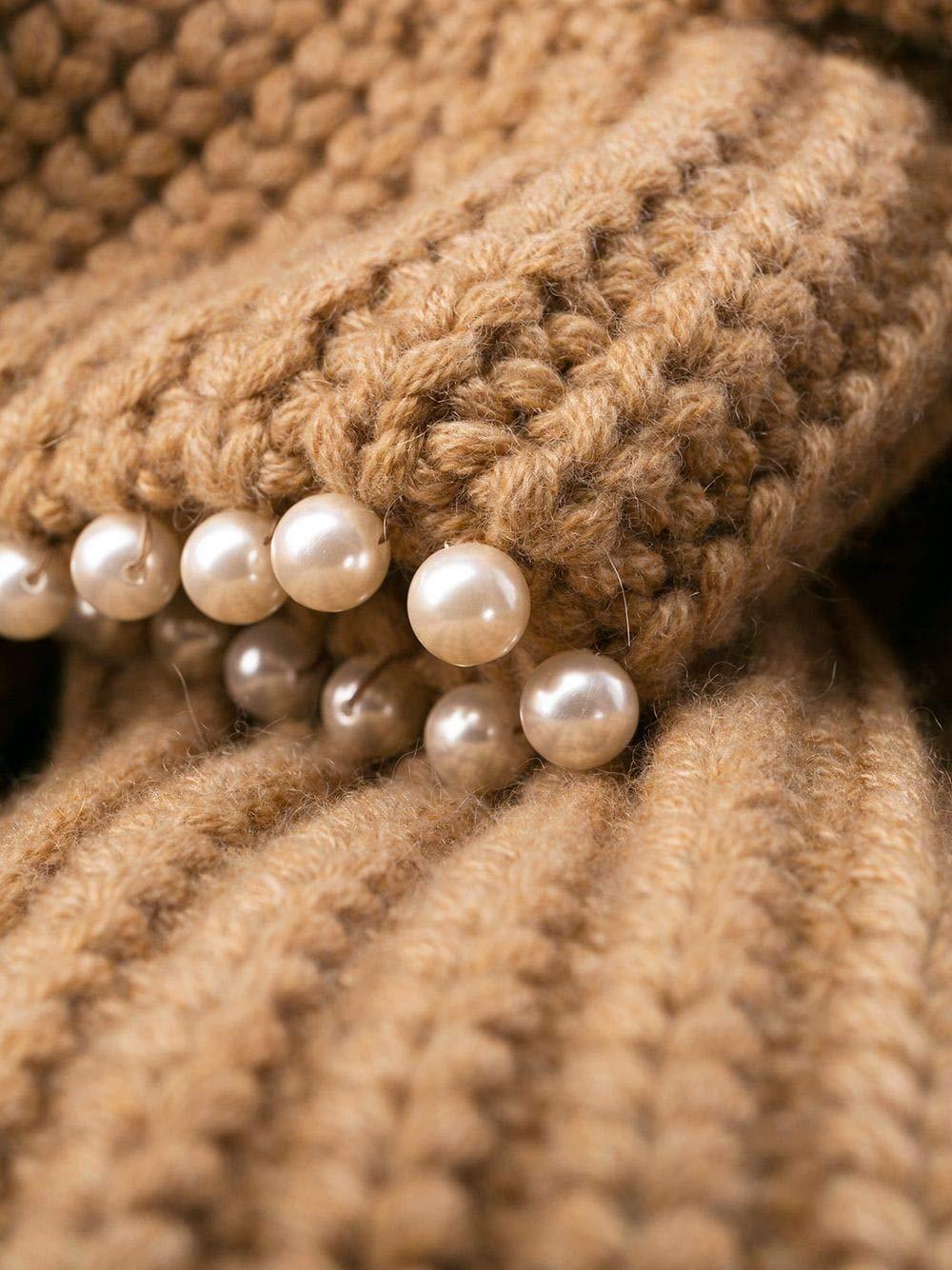 Luxury Fashion Woman Brown Cashmere Sweater