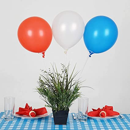 """Balloon Holder Cups /& Sticks 100 pcs /""""PREMIUM QUALITY/"""" Ideal For Any Parties"""