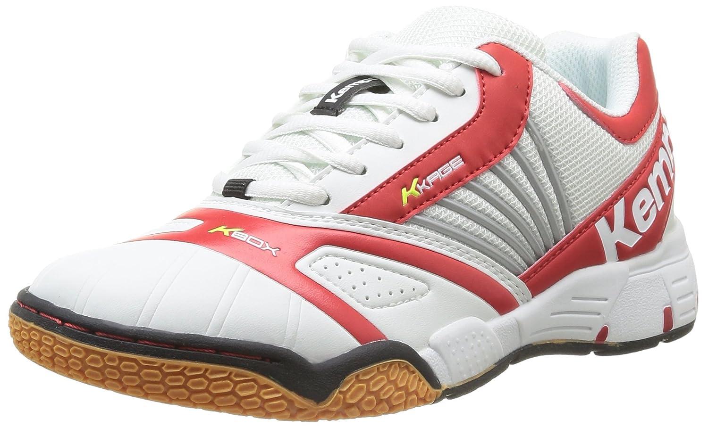 Kempa Tornado Women 2008477 - Zapatillas de balonmano de caucho para mujer, color blanco, talla 36 EU (3.5 Damen UK)