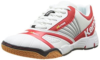 Kempa Tornado Women Handball Shoes White (weißRotFluo Gelb