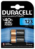 Duracell Specialty Type 123 Ultra Lithium Photo Battery, Pack of 2