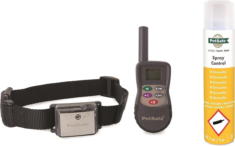 Collar PetSafe Deluxe - Sistema de adiestramiento con Spray, 275m