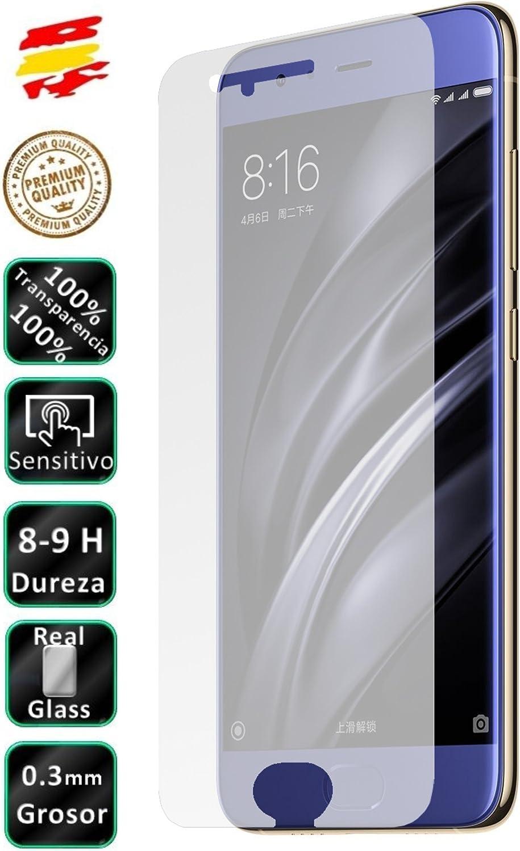 Movilrey Protector para Xiaomi MI6 Cristal Templado de Pantalla Vidrio 9H para movil