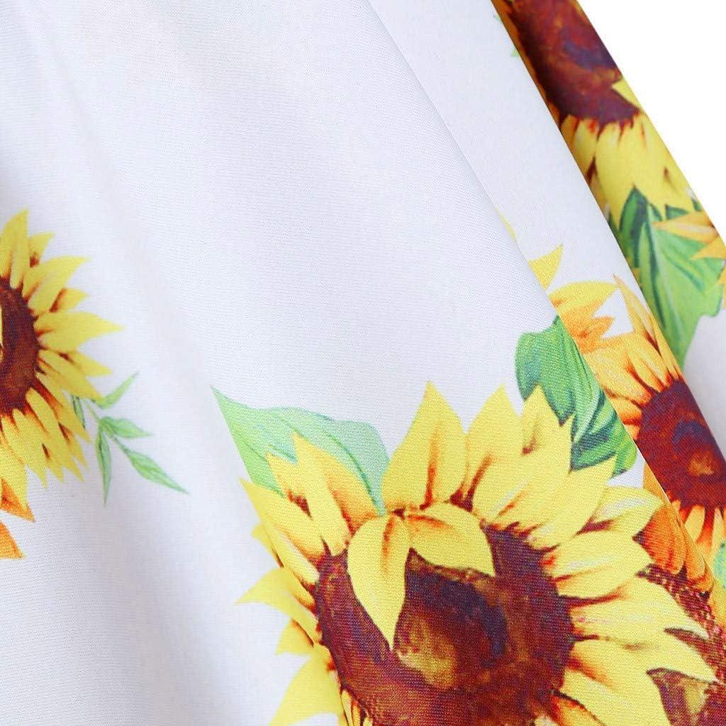 MAOIMOR Women Two Pieces Bathing Suits Top Ruffled with High Waisted Bottom Bikini Set(Yellow,White,Black,Multicolor,Green,Pink,S,M,L,XL,XXL,XXXL) Yellow-6