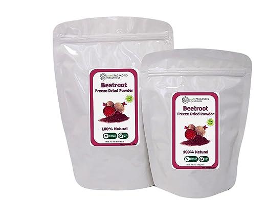 Gefriergetrocknete Rote Bete Pulver 100 Naturlich Glutenfrei Ohne