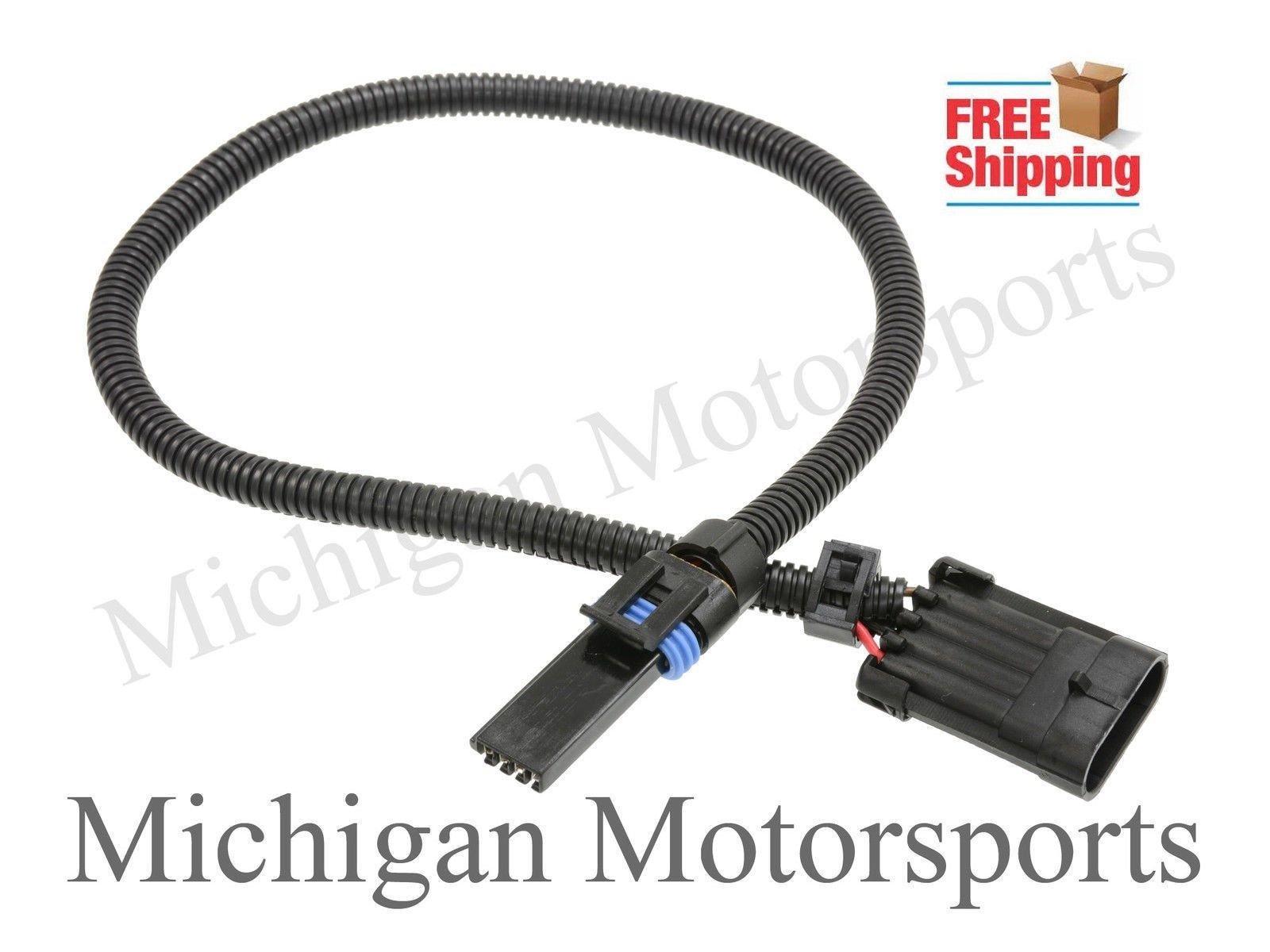 Michigan Motorsports Optispark Vented Wiring Harness Connector Lt1 Fits Camaro Firebird Distributor 57l