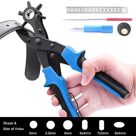 Amazon.com: Perforadora de piel para perforar agujeros de ...