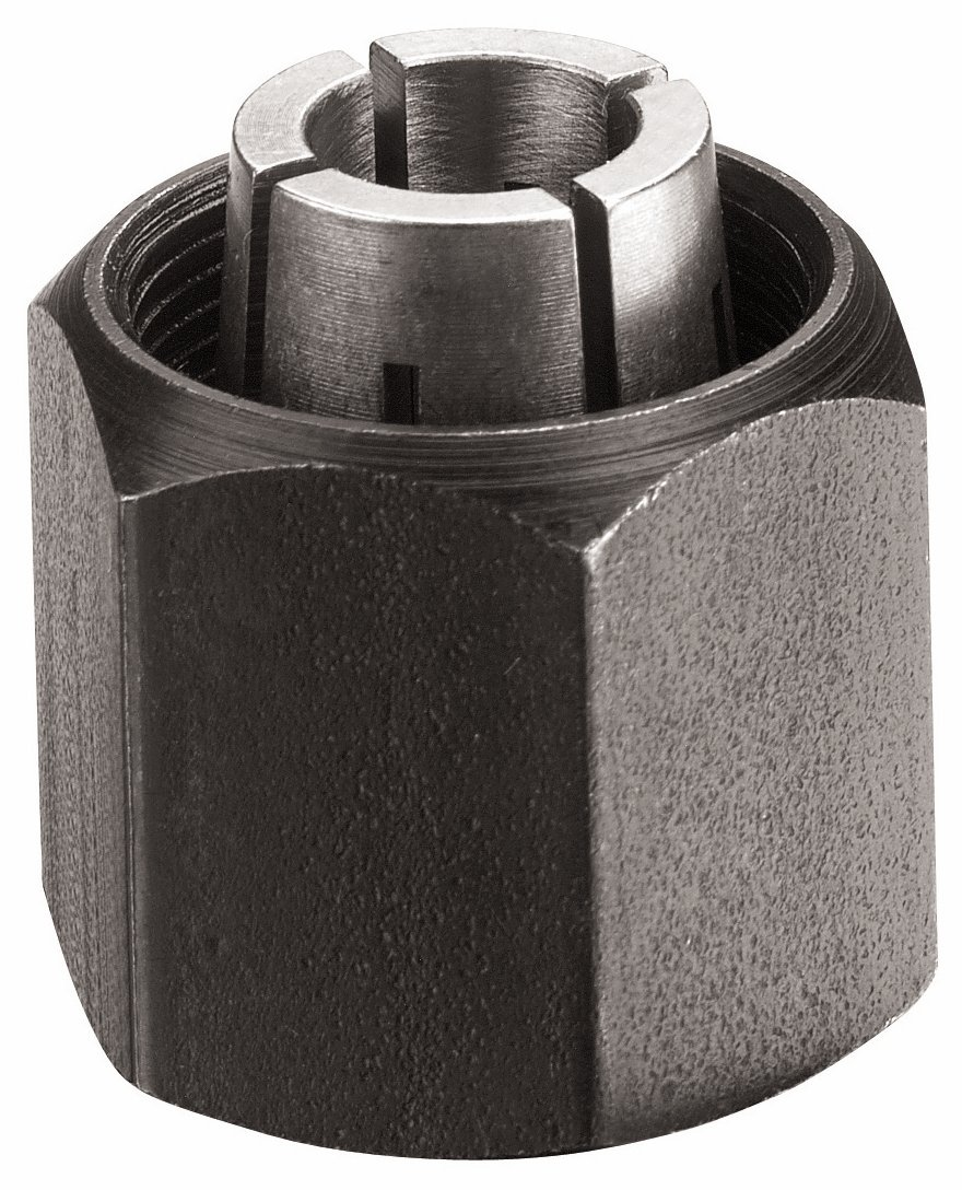 Bosch 2610906284 1/2'' Collet Chuck for 1613-,1617-, 1618- & 1619- Series Routers