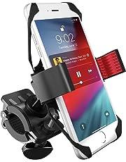 Soporte de Celular para Bicicleta V2, Motocicleta y Carreola. Base de Celular Universal para Cualquier Bici o Moto. Compatible con iPhone 5/ 6 / 6 plus / Galaxy 5 / 6 / 7 / 7 Edge, o cualquier otro smartphone o Celular. BikeGrip.