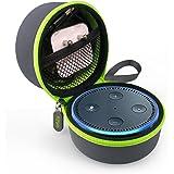 Tizum EchoDotG Travel Portable Hard Case Pouch for Echo Dot (Grey)