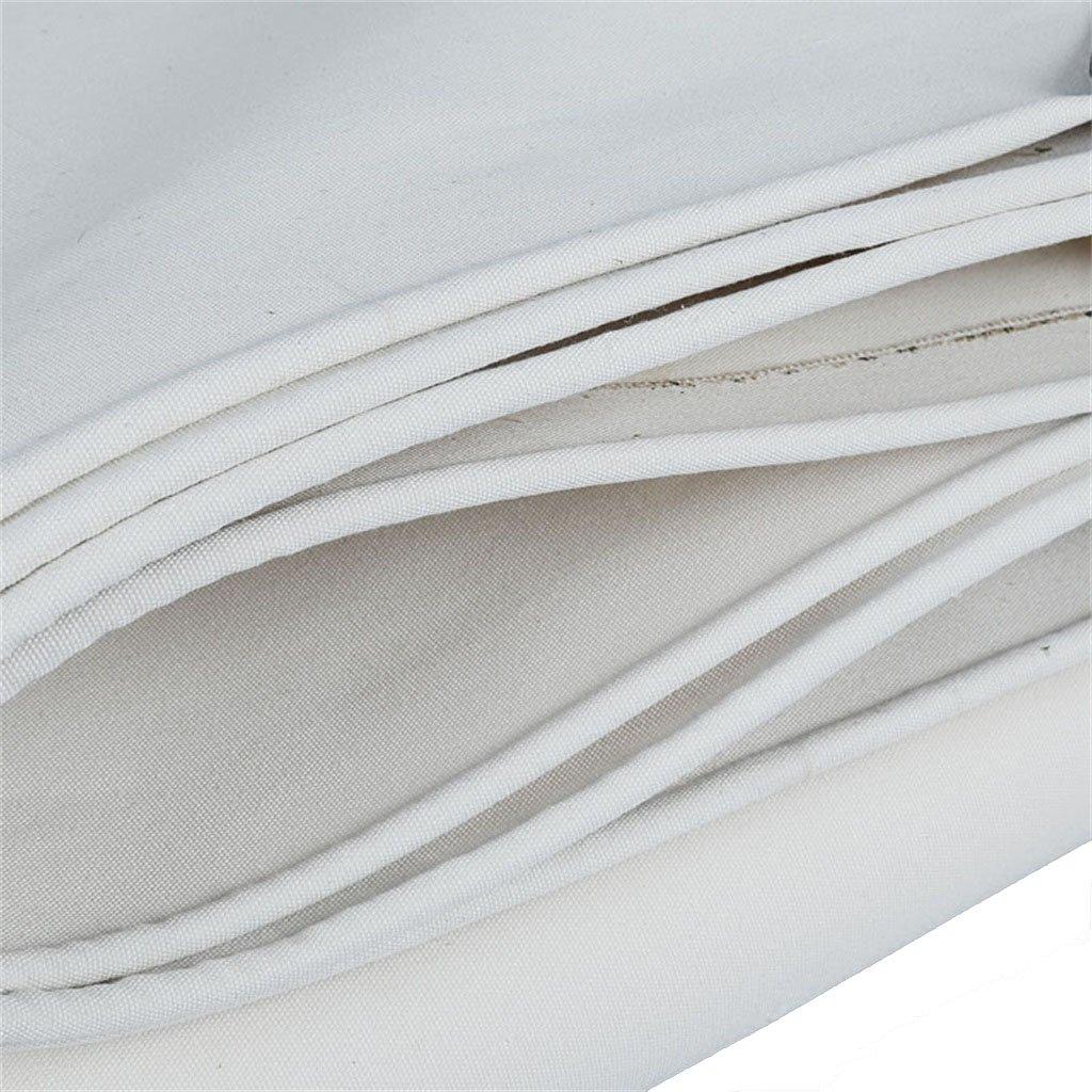 Plane Persenning Weiße Schatten-Hochleistungsplane-Multifunktionsplane-Plane-Stärke 0.6mm 0.6mm 0.6mm Boden-Blatt-Abdeckungen für das Kampieren, Fischen, im Garten arbeiten Abdeckplanen (größe   4MX6M) B07PQVV2T2 Zeltplanen Einfaches Leben 4e1805