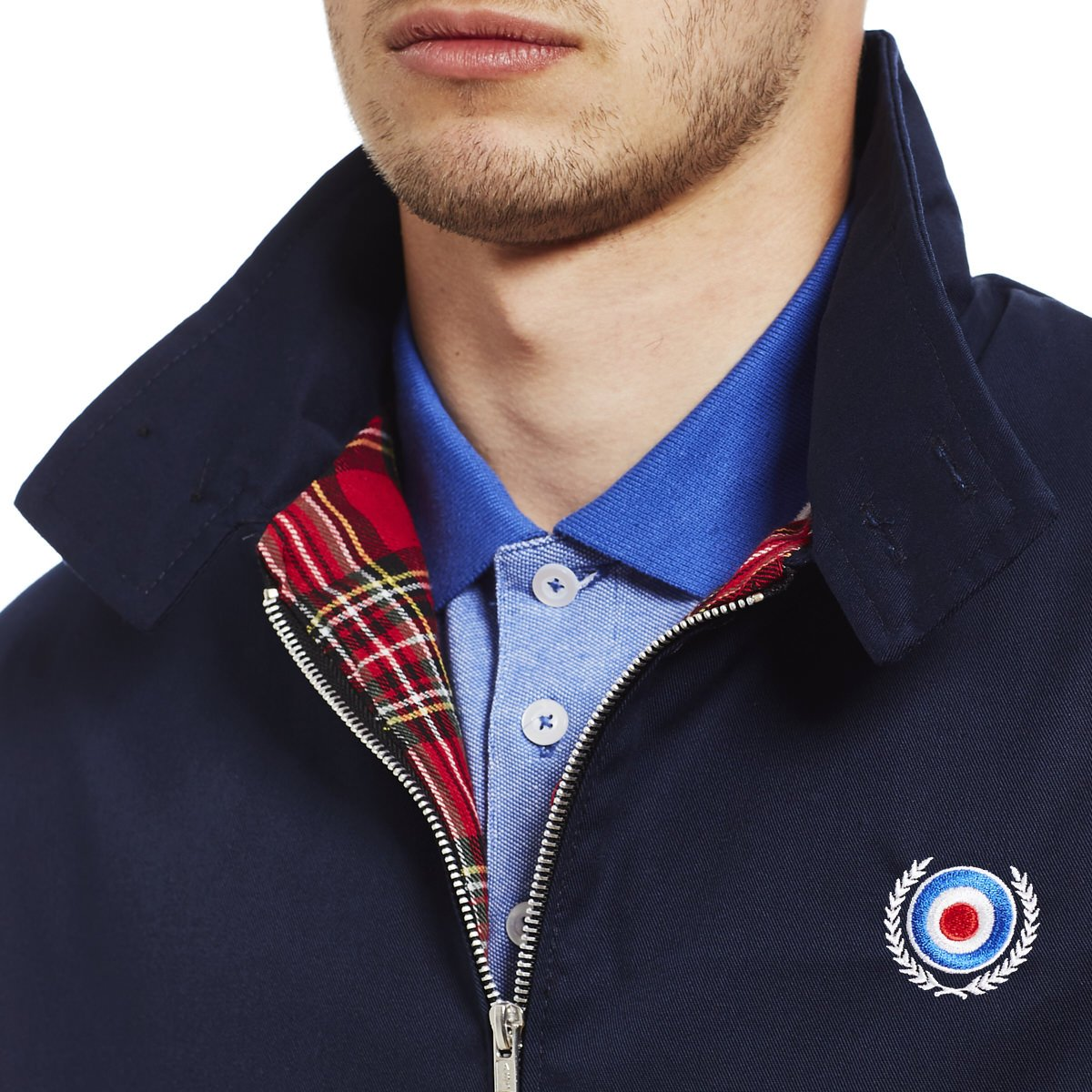 Mod Target Scooter Skin Ska Harrington Chaqueta de Hombre by 45REVS.