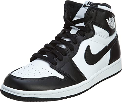 juntos Calibre condensador  Amazon.com: Nike Air Jordan 1 Retro High OG negro/blanco 555088 – 010, 8.5  D(M) US: Shoes
