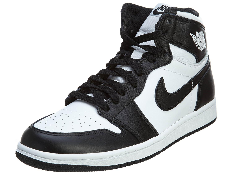 NIKE(ナイキ) スニーカー エア ジョーダン 1 レトロハイ OG メンズ jordan-retro-high B01AZO4ZN8 11.5 D(M) US Black,white-black