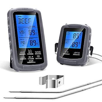 PETRIP Remote Digital 230 feet Wireless Meat Thermometer