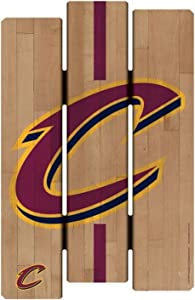 NBA Cleveland Cavaliers SignWood Fence Style, Team Color, 11x17