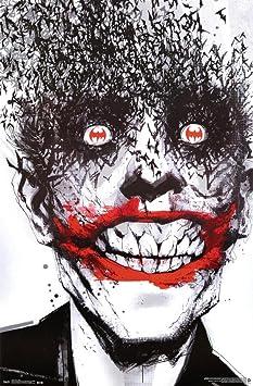 Batman-Arkham Origins-Joker Bats Cinema Film Poster-Size 61x91,5 cm