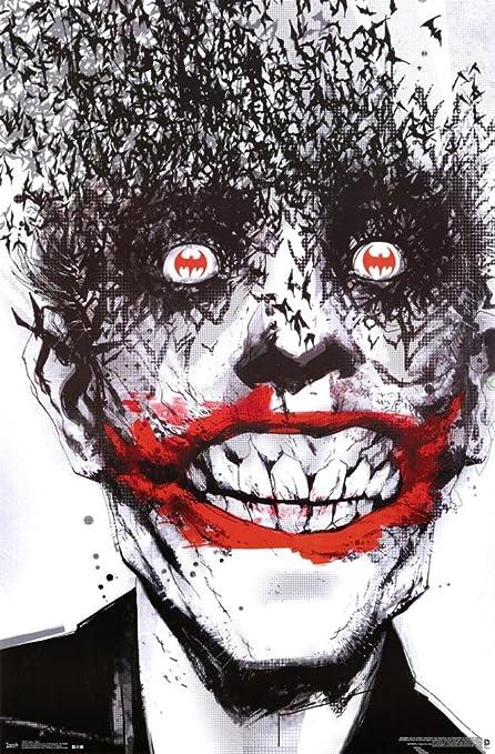 Joker Cards Batman Arkham City Art Wall Print POSTER US