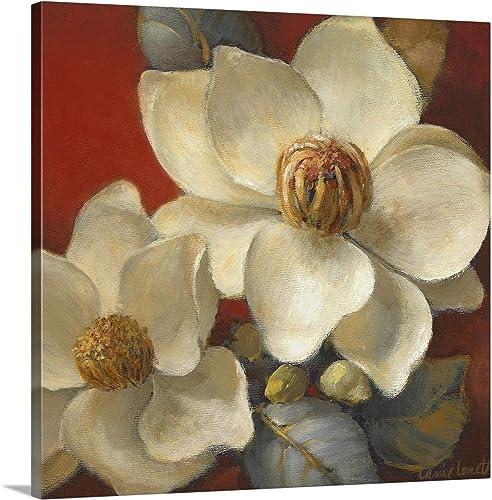 Magnolia Passion II Canvas Wall Art Print