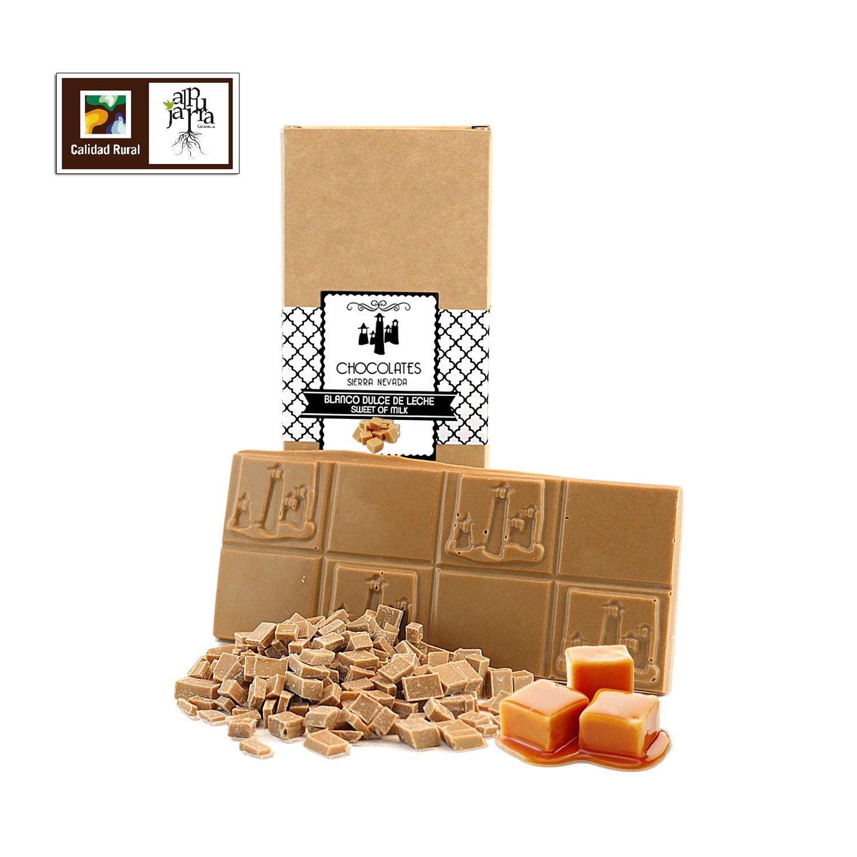Chocolate blanco artesano con dulce de leche: Amazon.es ...