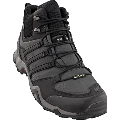 12bc1d77b81f0 adidas Terrex Swift R Mid GTX Boot - Men s Hiking 8 Dark Grey Black