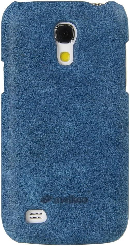 melkco Carcasa de Piel para Samsung Galaxy S4 Mini gti9190/S4 Mini Duos gti9192/S4 Mini LTE GTI9195: Amazon.es: Electrónica