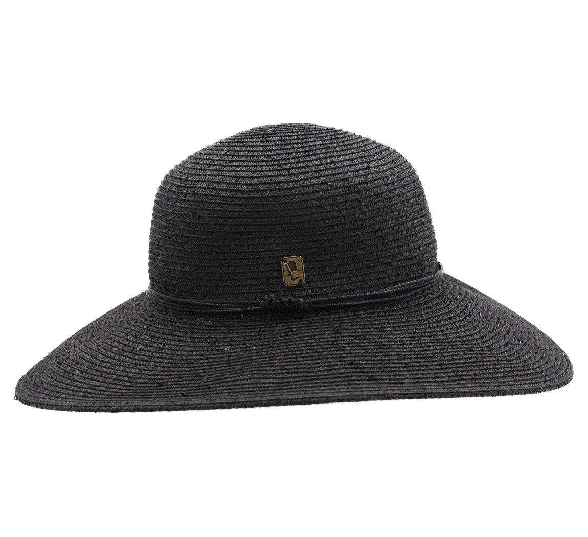 Herman - Cappello a falda larga donna SERENA - Size 57 cm - noir:  Amazon.it: Abbigliamento