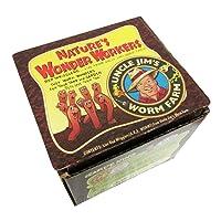Uncle Jim's Worm Farm 100 Count European Nightcrawlers