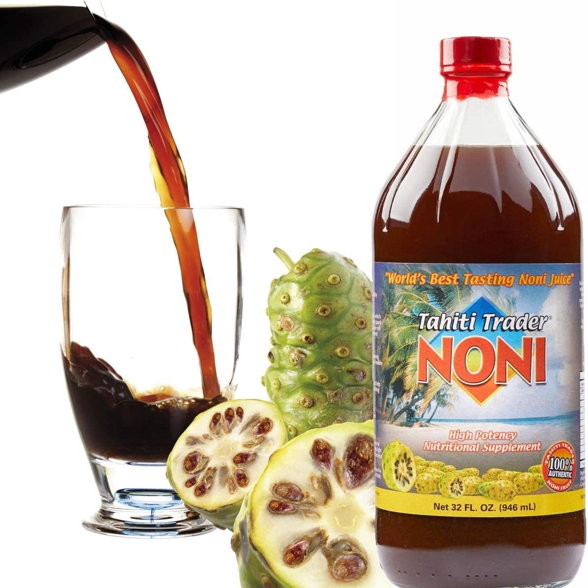 TAHITI TRADER Original High Potency Noni