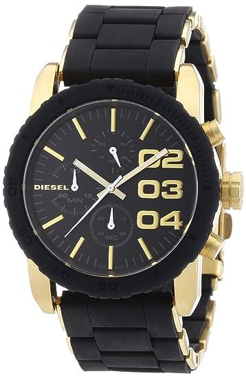 Diesel DZ5322 - Reloj analógico de cuarzo para mujer, correa de acero inoxidable color negro: Amazon.es: Relojes