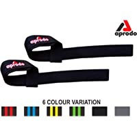 APRODO Power Cotton Gym Support/Weight Lifting Hand Bar Strap for Men & Women/Free Size / 6 Color