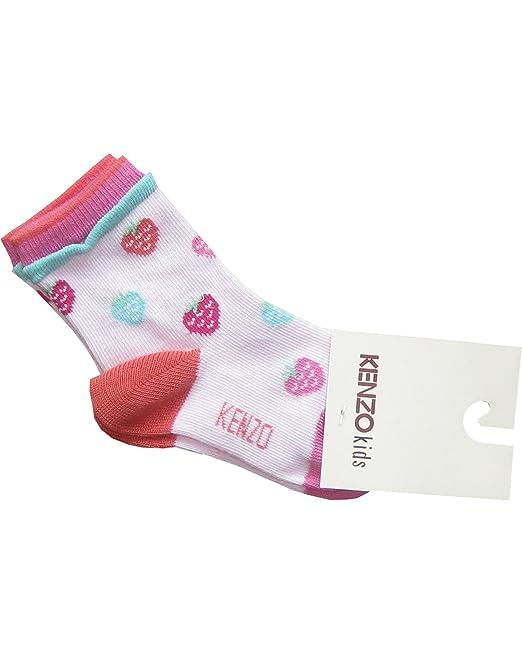 Kenzo - Calcetines - para bebé niña blanco blanco