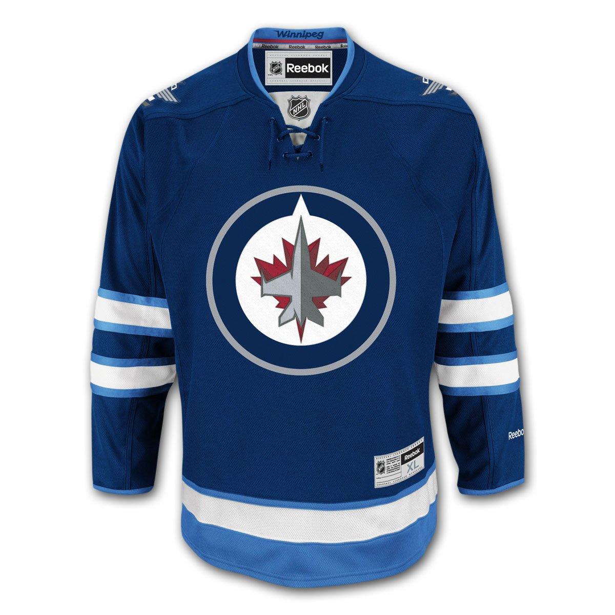 447ccd9efbb Winnipeg Jets Reebok Premier Youth Replica Home NHL Hockey Jersey - Size  Large   X-Large