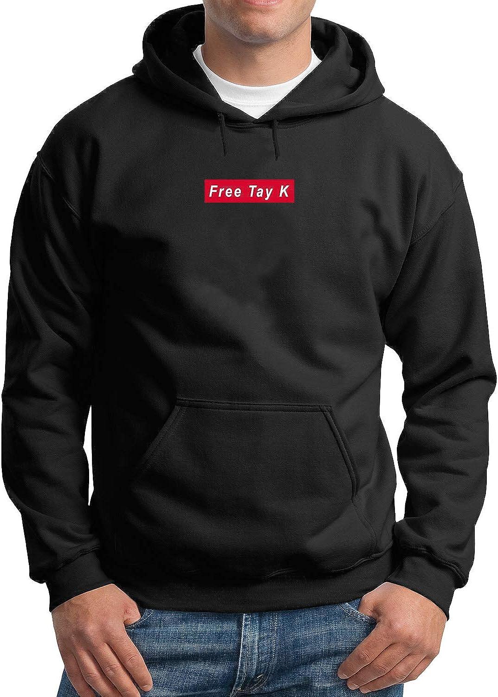 Black Free Tay K Suprem Style/_MA3237 Hoodie Hoody Sweater