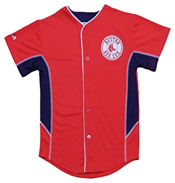 Outerstuff Boston Red Sox Blank Red Youth Team Leader Jersey (Medium 10 12) 33141a1e2da