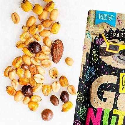Go Nuts Party Mix - Semillas Mixtas con Choco Frutas: Amazon ...