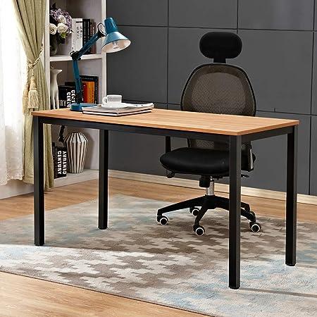 Oferta amazon: Need Escritorios 120x60cm Mesa de Ordenador Escritorio de Oficina Mesa de Estudio Puesto de Trabajo Mesa de Despacho, Teca Roble Color