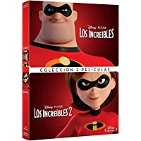 Pack Los Increibles 1+2 [DVD]