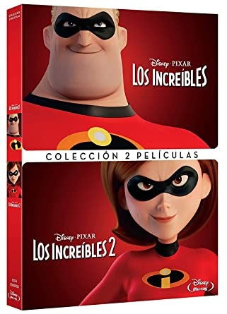 Pack Los Increibles 1+2 [DVD]: Amazon.es: Personajes Animados ...