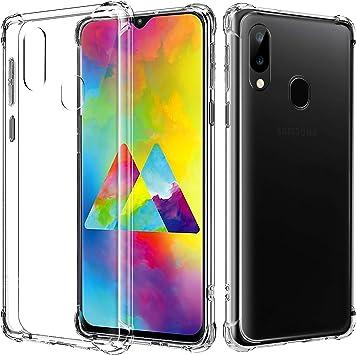 AIFIVE Funda Samsung Galaxy M20, Carcasa Silicona Transparente Protector TPU, Anti-Choque, Ultra-Delgado para Samsung Galaxy M20 (Transparente): Amazon.es: Electrónica