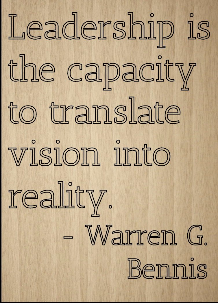 Amazon Leadership Is The Capacity To Translate Quote By