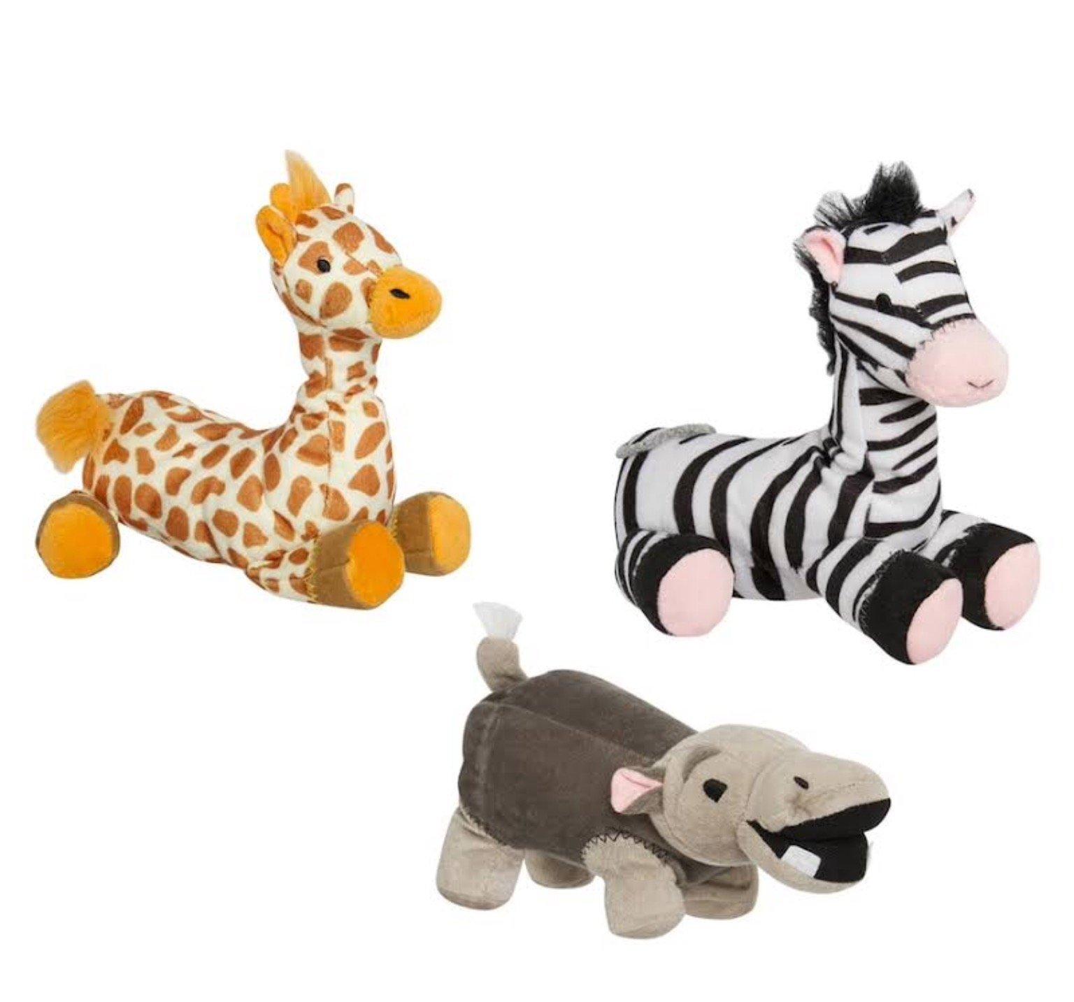 Animal Planet Safari 3-pc. Plush Pet Toy Set by Animal Planet (Image #1)