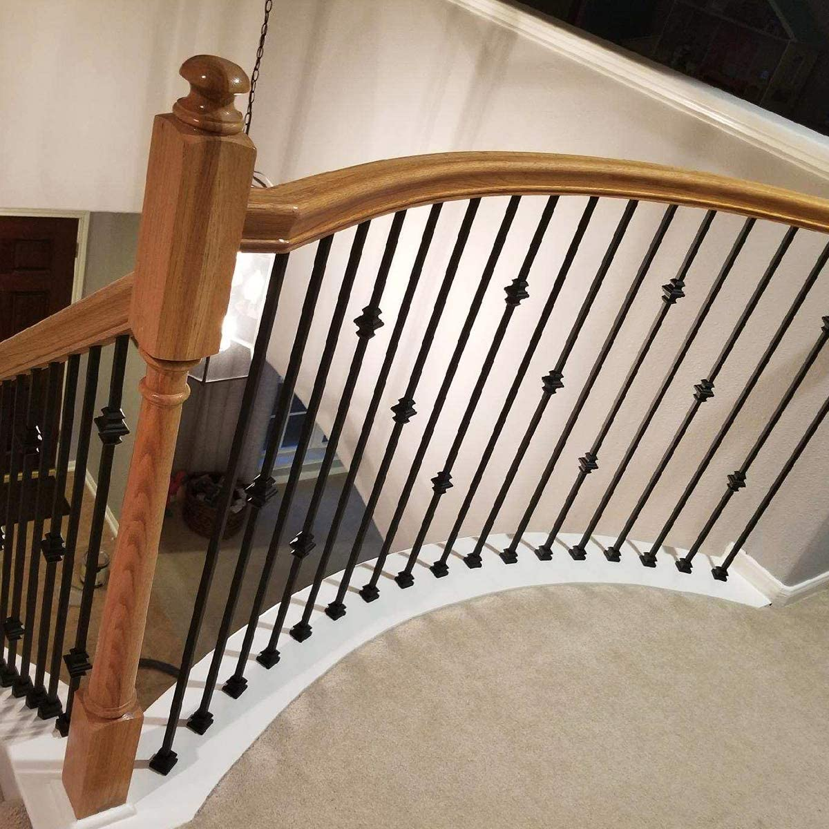 Stair Parts Baluster Metal Rail Mount FAST DELIVERY Wrought Railing Iron 1