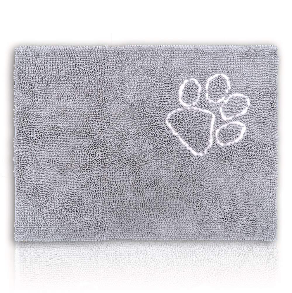 Grey XXL Grey XXL CatGuru Premium Cat Litter Mat. No More Messy Floors  (XXL, Grey)
