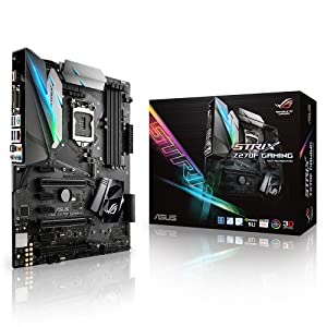 ASUS ROG STRIX Z270F GAMING LGA1151 DDR4 DP HDMI DVI M.2 ATX Motherboard with USB 3.1