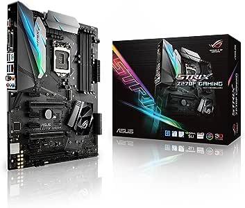 ASUS ROG STRIX Z270F GAMING LGA1151 DDR4 DP HDMI DVI M.2 ATX Motherboard with USB 3.1