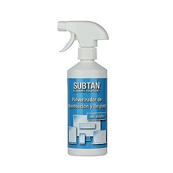 SUBTAN - Aerosol desinfectante y limpiador (500 ml, para smartphone, tablet, pantalla