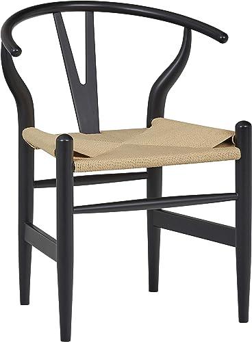 Amazon Brand Stone Beam Mid-Century Wishbone Dining Chair