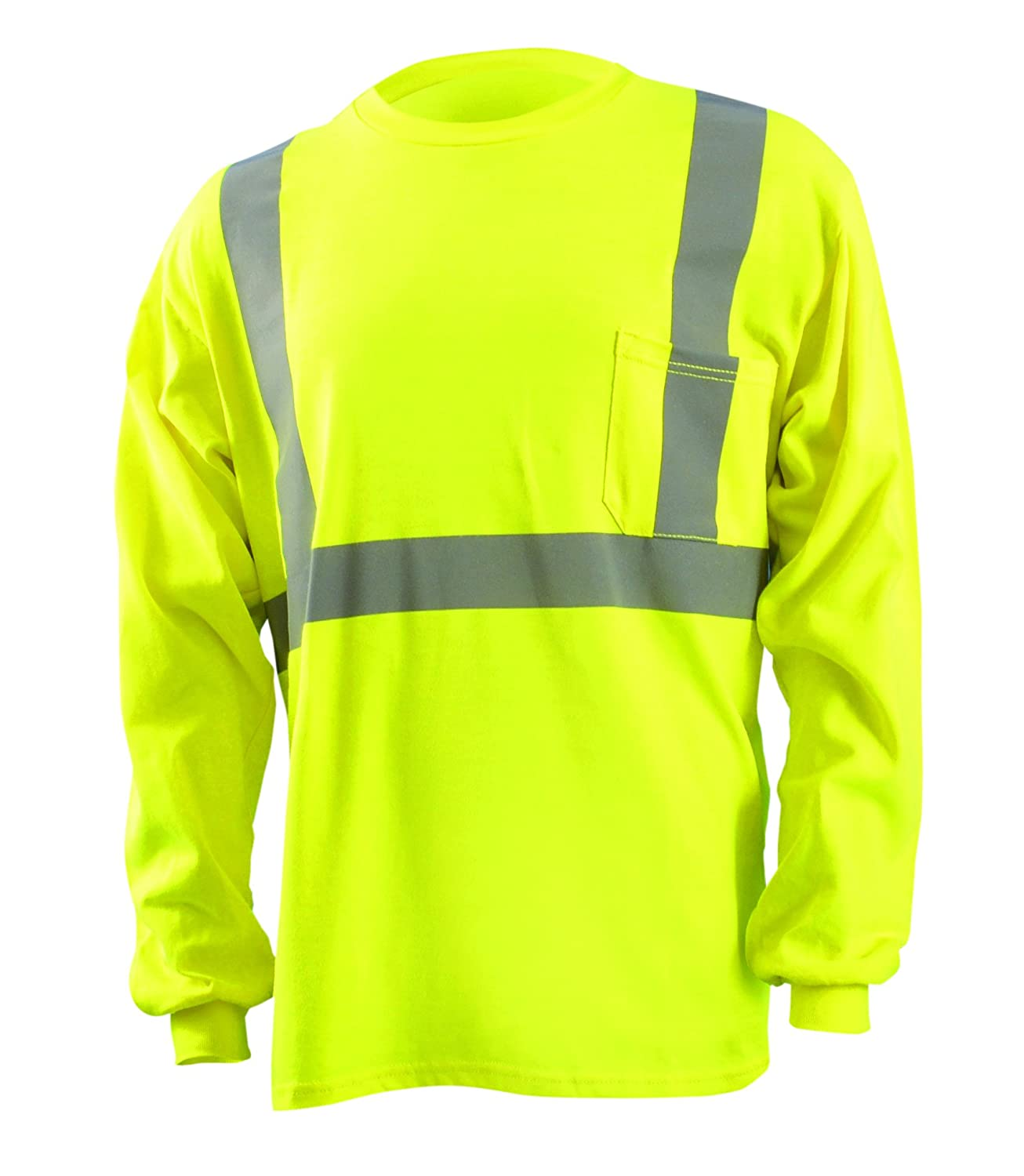 Occunomix LUX-SSBRPFR-Y4X Premium Flame Resistant 5 Point Break-Away Solid Vest, HRC 1, 4X-Large, Yellow by Occunomix B00647XVKY