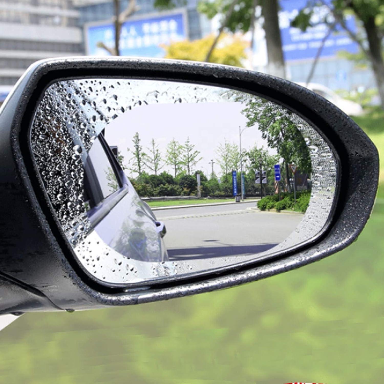 MRCARTOOL 4 pi/èces r/étroviseur de Voiture HD /étanche /à la Pluie Film /étanche Nano Autocollant de Protection Transparent pour r/étroviseurs de Voiture et fen/êtres lat/érales 100 x 150 mm